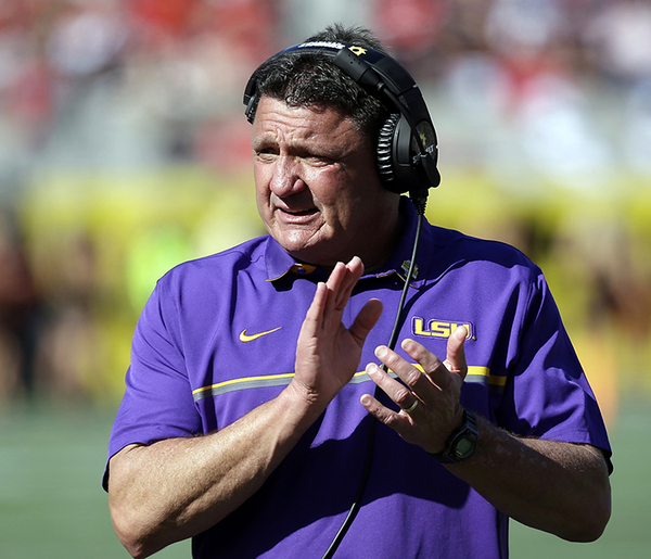Before LSU, Ed Orgeron shined at Syracuse